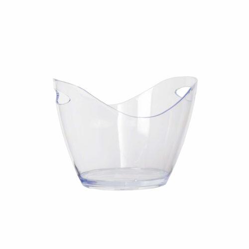 Wine Bucket Oval Clear 4 L