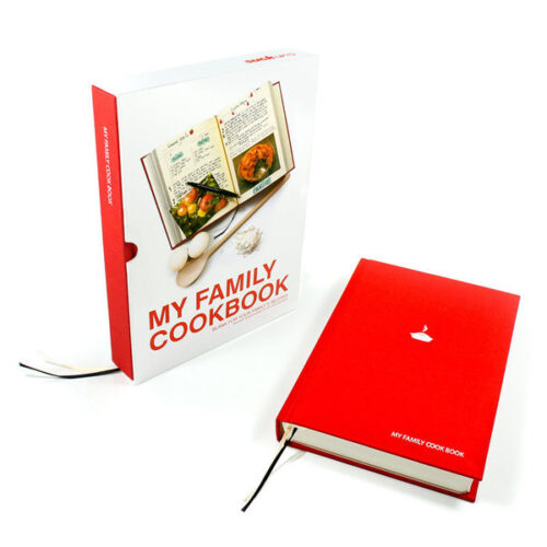My Family Cookbook - Red